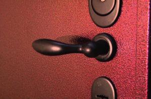 Порошковая покраска двери
