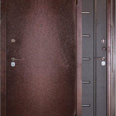 Порошковая покраска двери входной