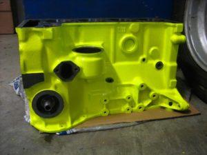 Порошковая покраска двигателя